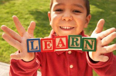 Kids learn school