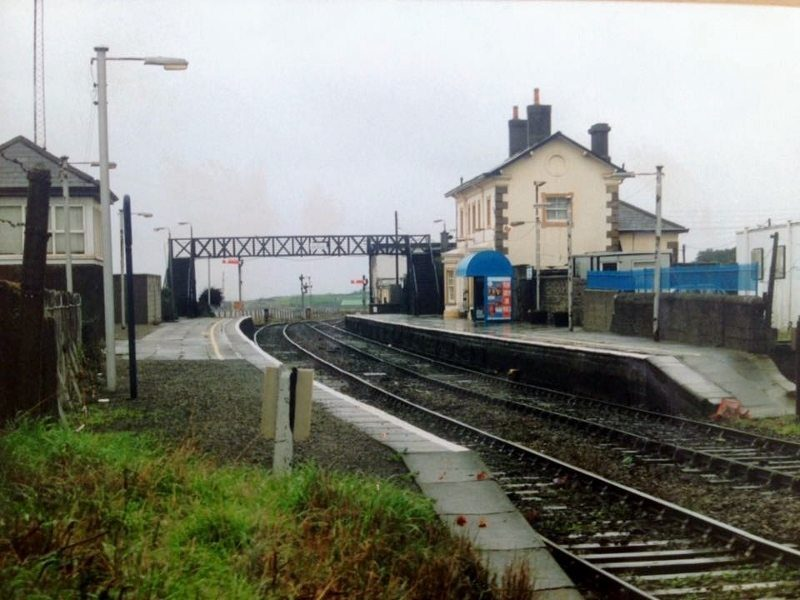 Railway Station 1980s Pic Niall Farrell