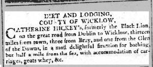 Saunder's Newsletter 8th Mar 1793
