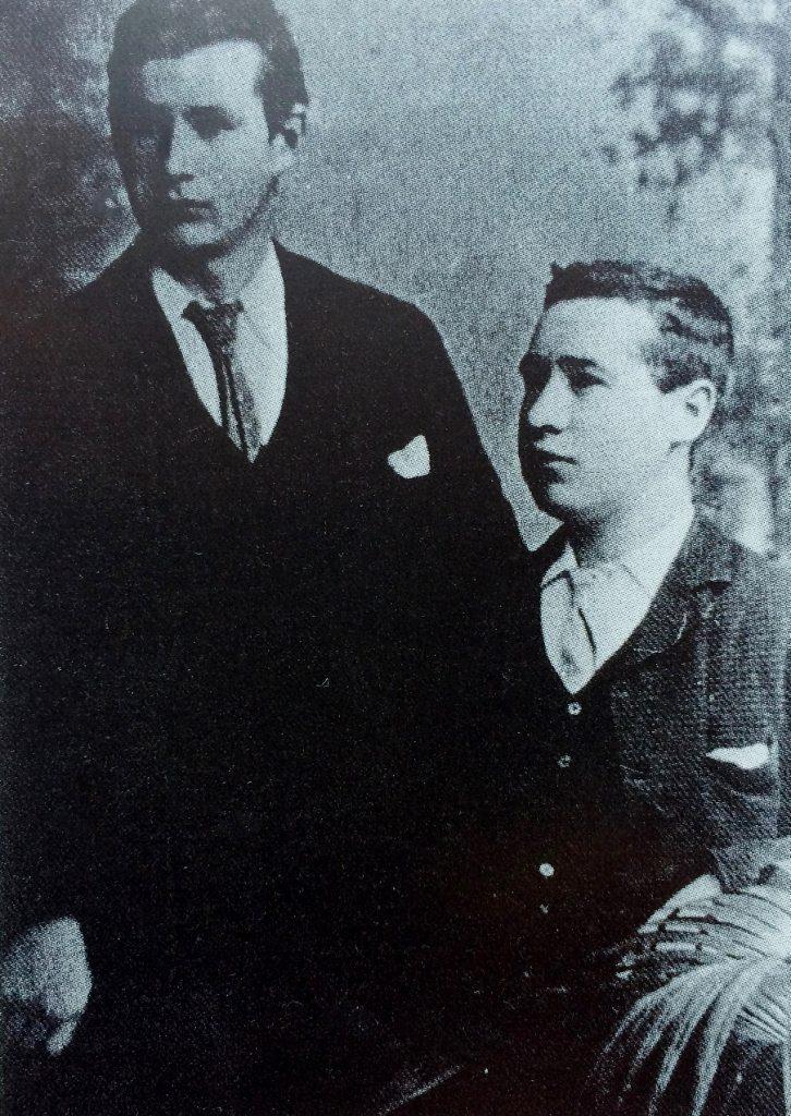 Maurice and Robert Doyle. Source Gary Paine