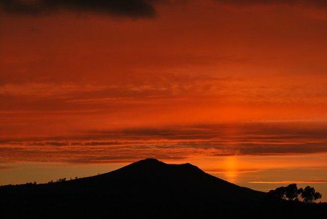 Red Sky Sugar Loaf. Pic Ian McCann