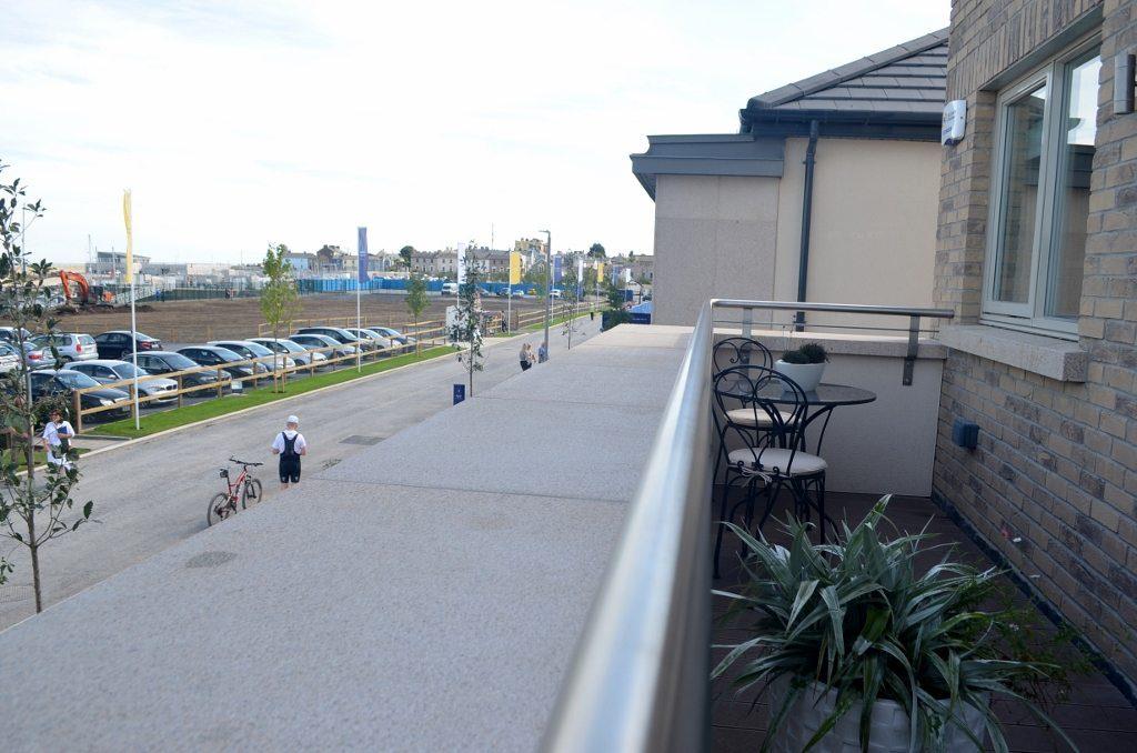Marina village walkway