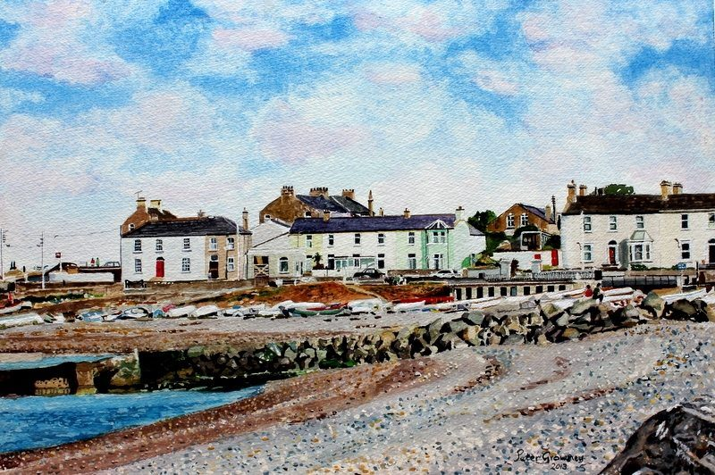 Old Harbour (Commissioned Painting) Peter Growney
