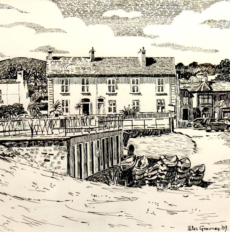 fishermens-huts-old-greystones-harbour-pen-and-indian-ink-peter-growney-greystones-artist-bray-sept-2016-article-794x800
