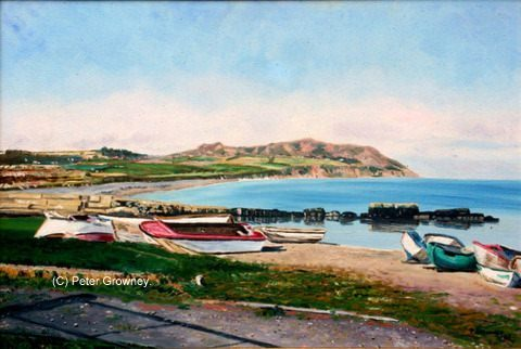 Greystones Harbour by Peter Growney