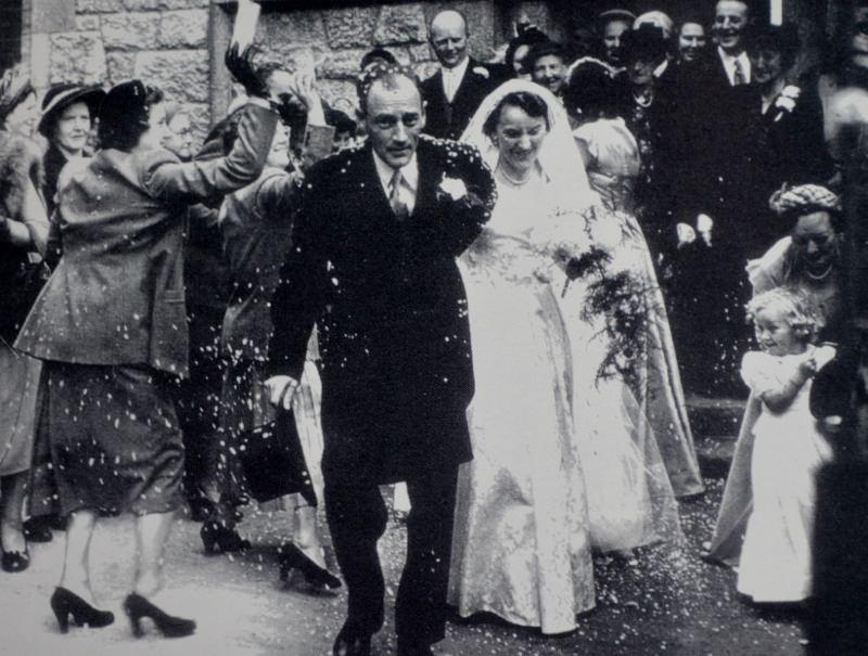 Eric & Ruth Archer's Wedding. Source Derek Paine