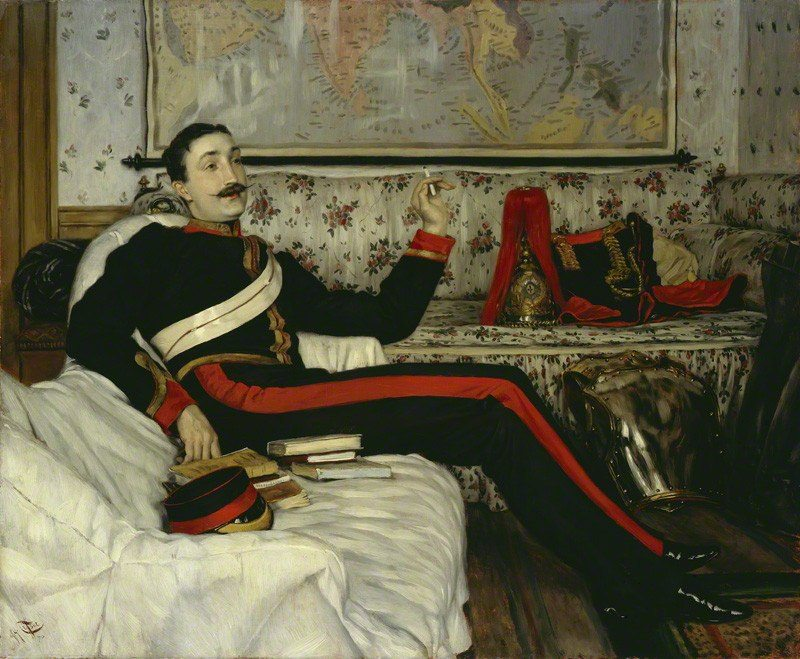 by James Jacques Tissot, oil on panel, 1870