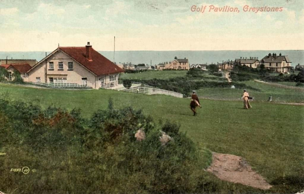 Greystones Gold Club Postcard