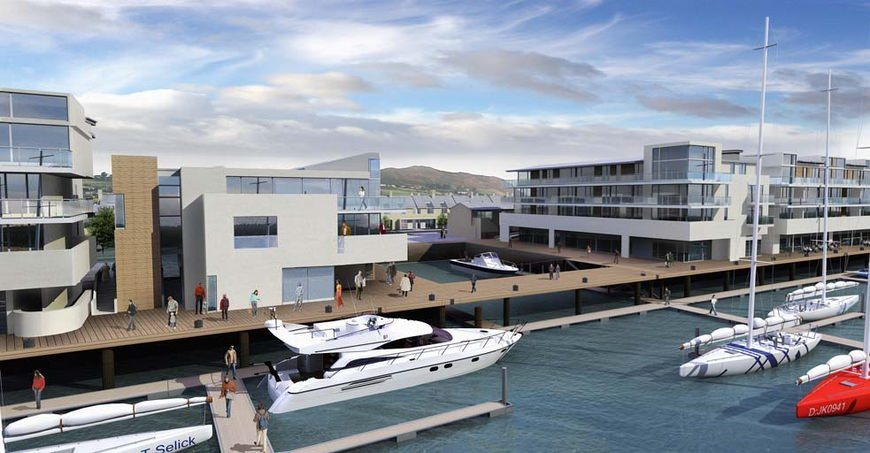 Greystones Harbour Marina OPW Plans