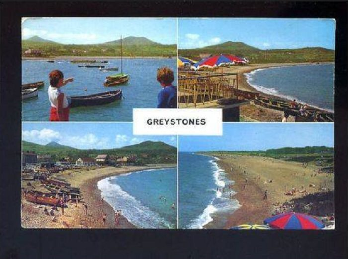 Greystones Multi-View Postcard