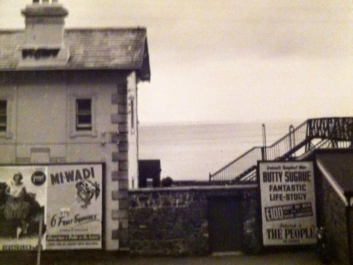 Greystones Station Ads Pic Jean Hatton