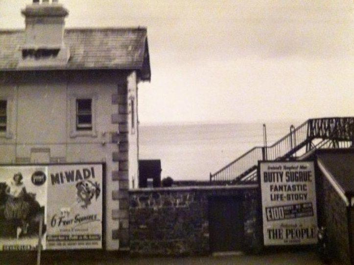 Greystones Station Ads Pic Jean Hatton