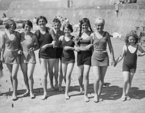 Greystones Teenagers Harbour 1935 (it says, but we reckon later)