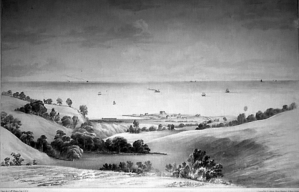Greystones from Coolagad by Henry McManus RHA 1855
