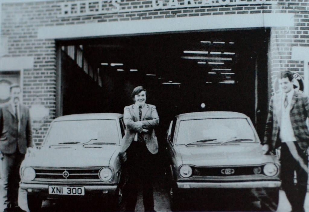 Harold Hill, Derek Wilkinson, Richard Hill Source Derek Paine