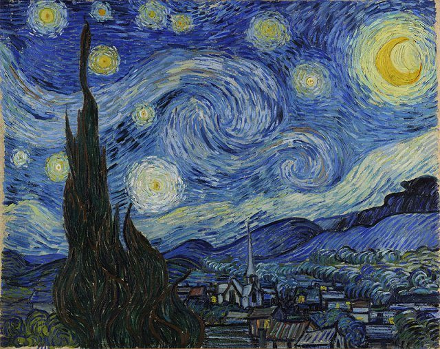Helen Magee Vincent van Gogh Starry Night Kick Up The Arts March 2015