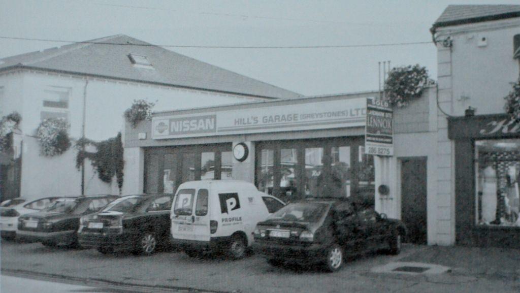 Hill's Garage on the Main Street Source Derek Paine