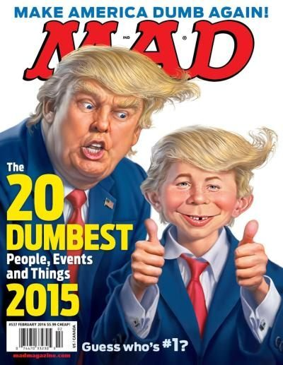 Mad magazine Trump Craig Campbell comedy
