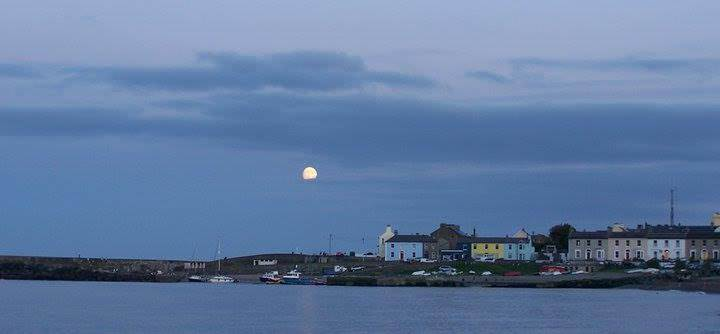 Moon Over the Harbour Pic Anne Stanley