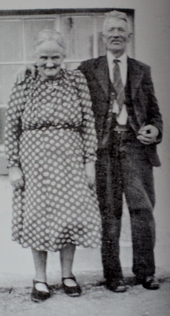 Mr & Mrs Kelly, grandparents of Joe Sweeney