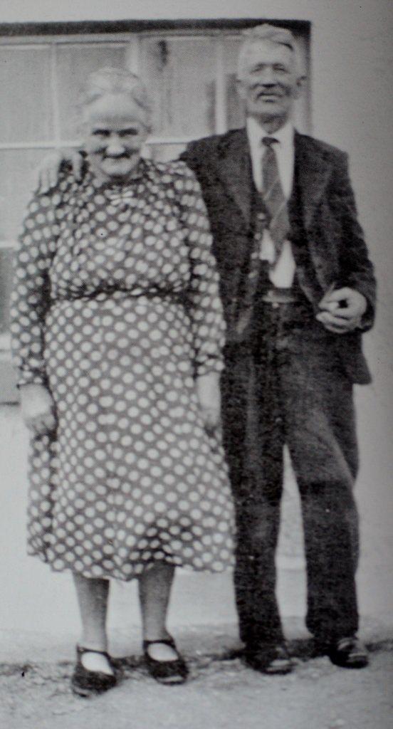 Mr & Mrs Kelly, grandparents of Joe Sweeney