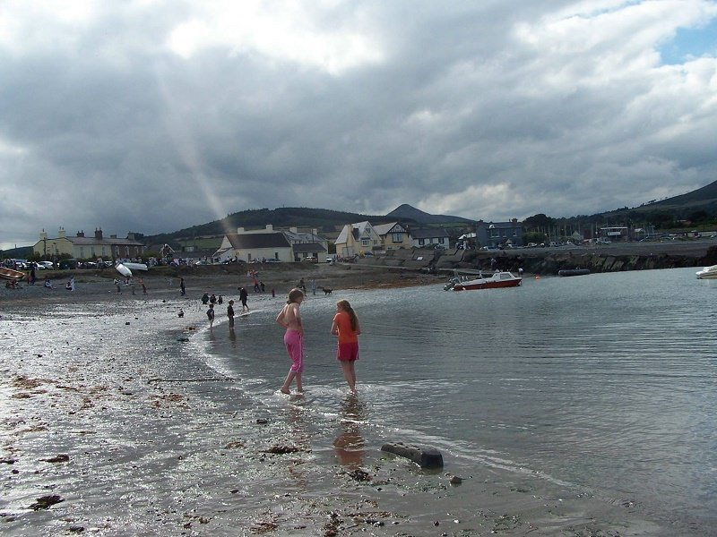 Old Greystones Harbour Bathing Pic Anne Stanley