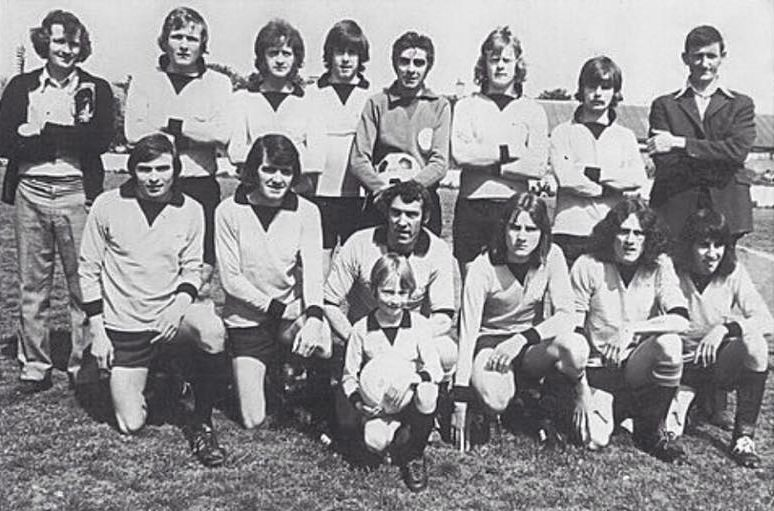 Orchard United, sometime in the 1970s. Or the 1870s. Not sure.