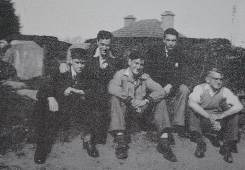 Paddy L'Estrange, Eugene Green, Dave O'Connor, Dermot Hayden & Bernie Hayden. Source Derek Paine