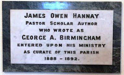 Rev James Owen Hanney monument. Photo: PC