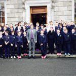 Kilcoole Primary School Get The Leinster House Schmooze