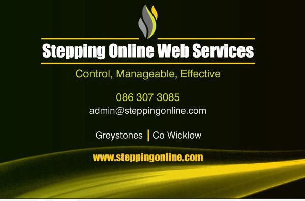 Stepping Online Web Services logo