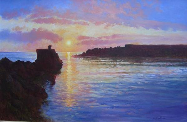 Harbour Sunrise by Rick Bentham
