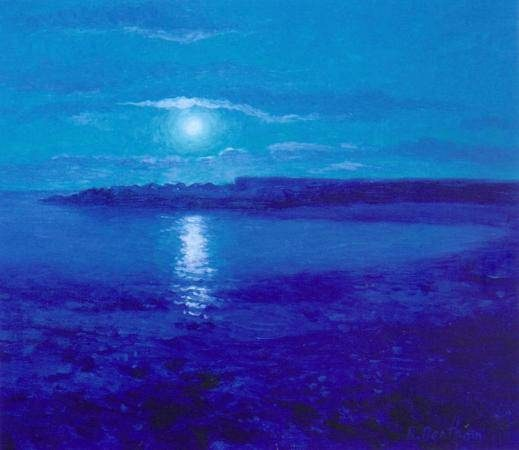 The Blue Moon, Greystones by Rick Bentham