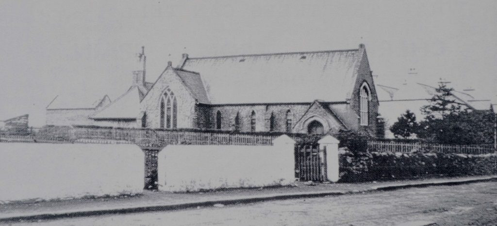 Trafalgar Rd's Presbyterian Church 1920. Source Derek Paine