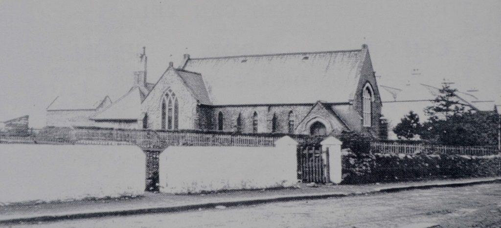 Trafalgar Rd's Presbyterian Church 1920. Source Derek Paine