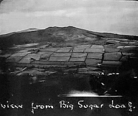 View from Big Sugarloaf taken 17th Mar 1934 Source Patrick Neary