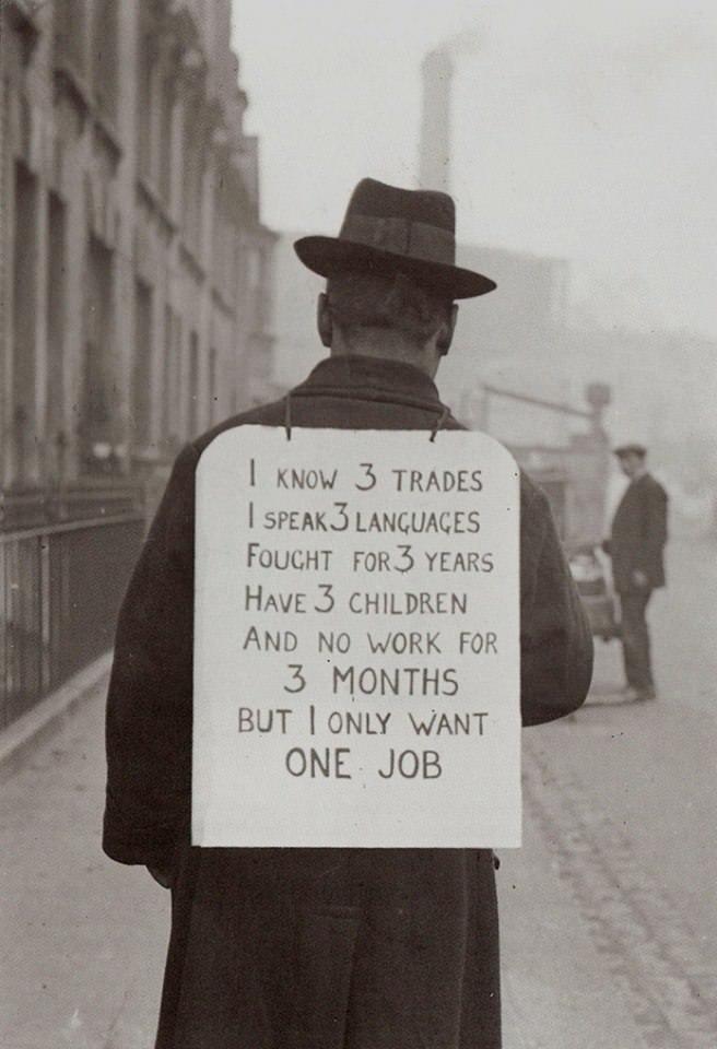 need a job unemployment dole welfare