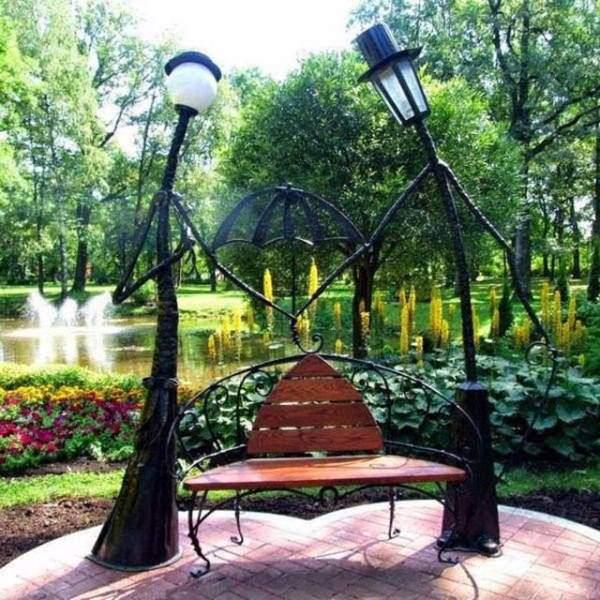 Greystonians bring out their romantic side greystones guide for Ideas originales para el jardin
