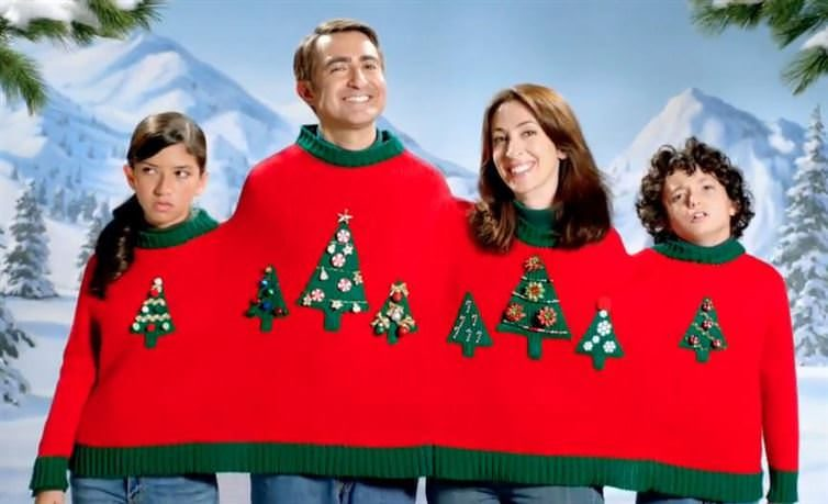 xmas sweater families gifts naff